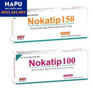 Thuốc Nokatip 150mg – Erlotinib 150mg