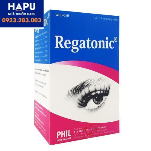 Thuốc Regatonic - Thuốc bổ mắt (Hôp 60 viên)