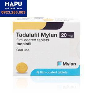 Thuốc Tadalafil Mylan giá bao nhiêu