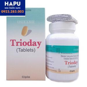 Thuốc Trioday - Thuốc điều trị HIV (Hộp 30 viên)
