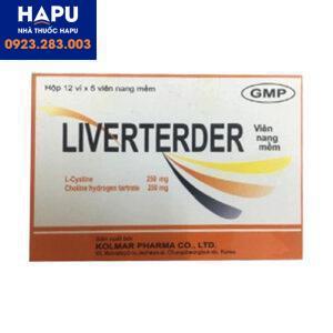 Thuốc Liverterder 1
