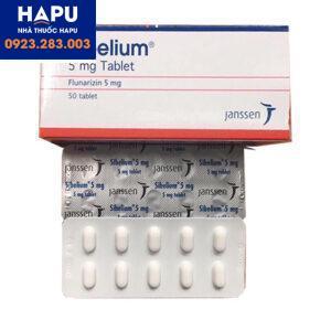 Thuốc Sibelium 5mg điều trị rối loạn tiền đình