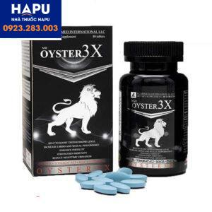 Tác dụng phụ của thuốc Oyster 3X