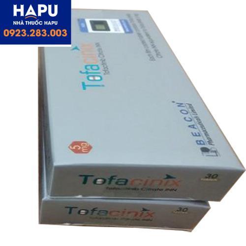 Tác dụng phụ của thuốc Tofacinix