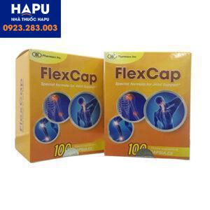 Thuốc Flexcap điều trị bệnh xương khớp mua ở đâu giá rẻ