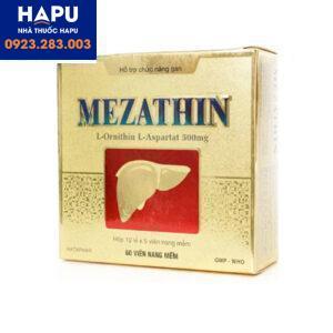 Thuốc Mezathin giá bao nhiêu