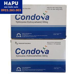 giá thuốc condova 500mg bao nhiêu, mua thuốc condova ở đâu