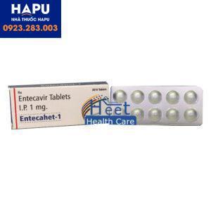 Thuốc Entecahet 1mg điều trị viêm gan B