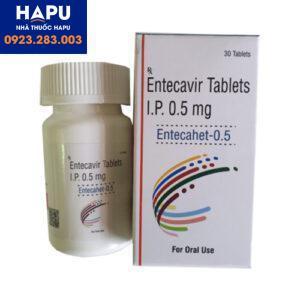 Thuốc Entecahet điều trị viêm gan virus