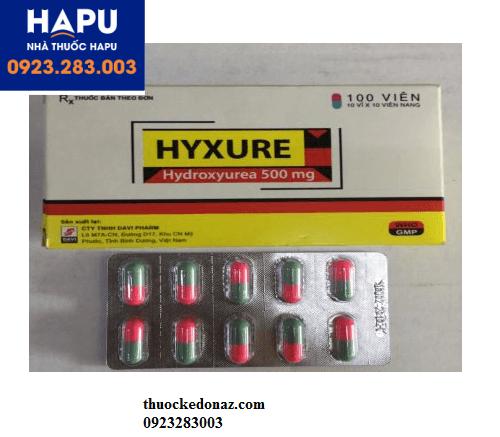 Giá thuốc Hyxure 500mg bao nhiêu? Mua thuốc Hyxure ở đâu?