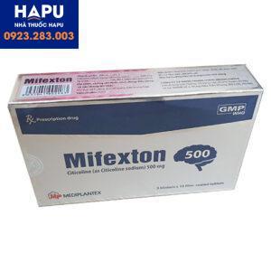 Thuốc Mifexton 500mg- Citicoline- Công dụng-Cách dùng-Gía bán.