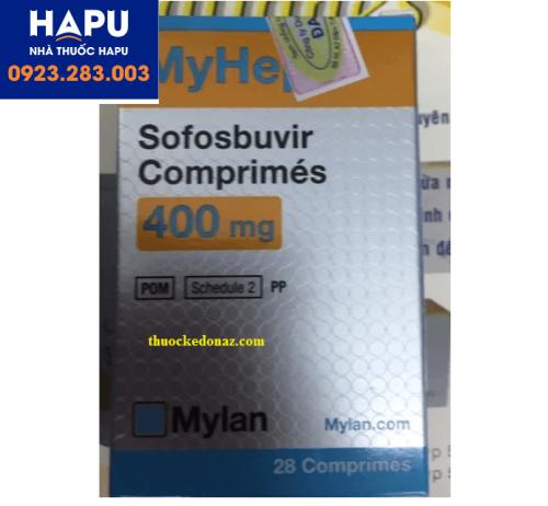 Thuốc Myhep 400mg giá bao nhiêu, mua thuốc ở đâu?