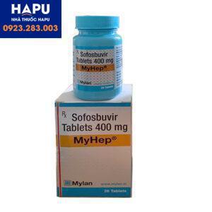 Thuốc thuốc Myhep giá bao nhiêu mua thuốc ở đâu uy tín Sofobusvir
