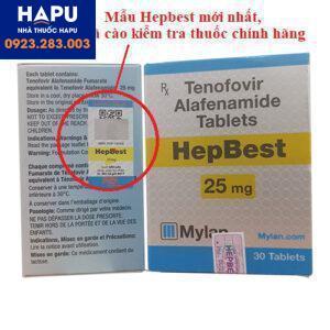 Thuốc Hepbest Tenofovir alafenamide giá bao nhiêu