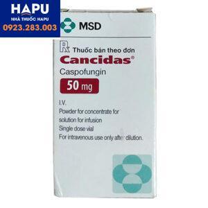 Thuốc Cancidas chính hãng giá rẻ