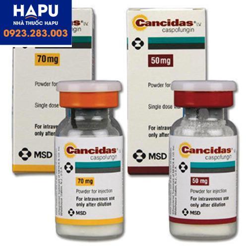 Thuốc Cancidas giá bao nhiêu