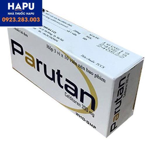 Mua thuốc Parutan chính hãng giá rẻ