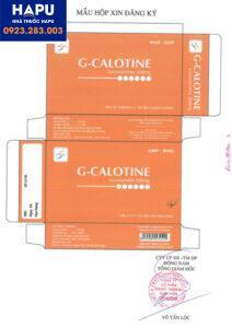 Thuốc G-Calotine giá bao nhiêu