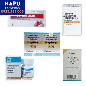 Các thuốc điều trị viêm gan B mới nhất hiện nay, thuốc tenofovir alafenamide