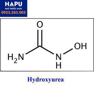 Cấu trúc hóa học của Hydroyurea