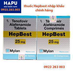 Thuốc Hepbest nhập khẩu chính hãng
