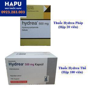 Thuốc Hydrea 500mg Pháp giá bao nhiêu