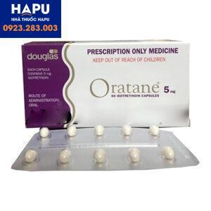 Thuốc Oratane công dụng giá bán cách dùng