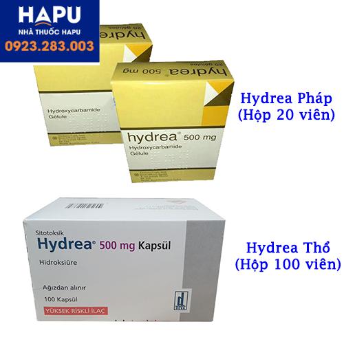 Thuốc thay thế thuốc Hytinon Hàn Quốc (Thuốc Hydrea Pháp, Thổ)