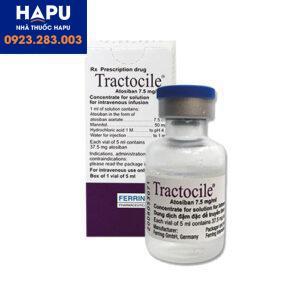 Thuốc Tractocile giá bao nhiêu