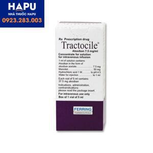 Thuốc Tractocile tác dụng phụ là gì