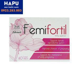 Thuốc Femifortil công dụng giá bán cách dùng