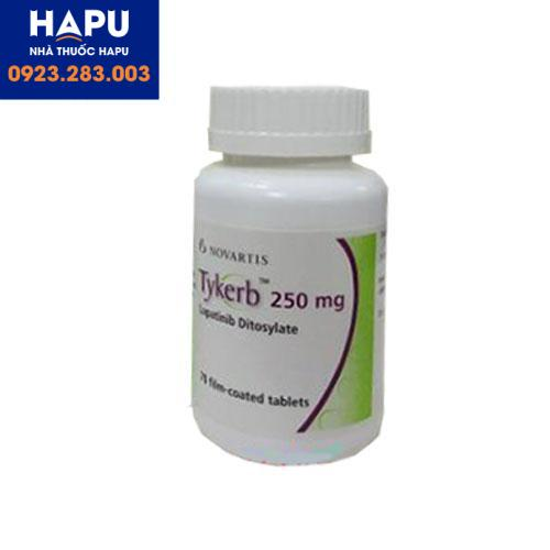 Thuốc Tykerb 250mg công dụng chỉ định cách dùng