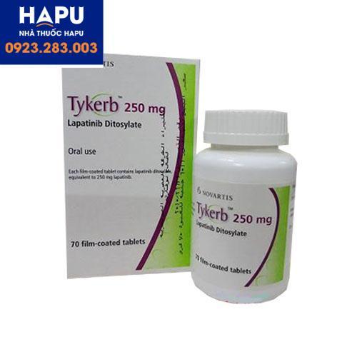Thuốc Tykerb 250mg giá bao nhiêu