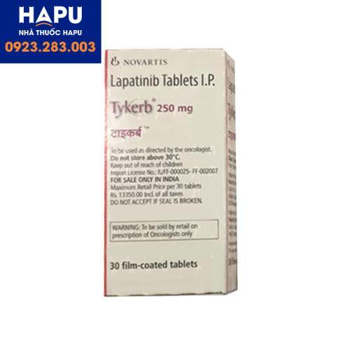Thuốc Tykerb 250mg tác dụng phụ là gì