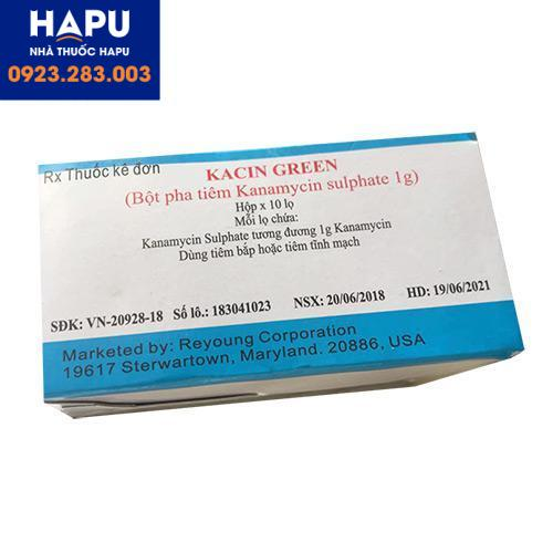 Công dụng giá bán cách dùng thuốc Kacin Green