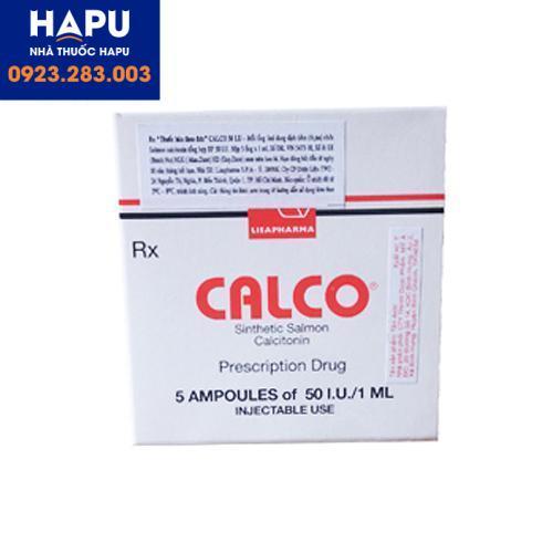 Thuốc Calco công dụng giá bán cách dùng