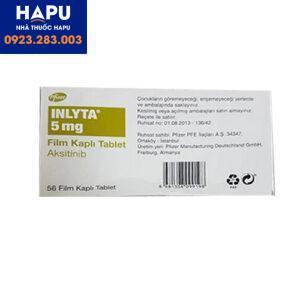 Thuốc Inlyta 5mg Axitinib điều trị ung thư thận