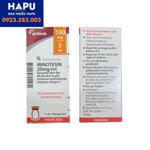 Thuốc Irinotesin công dụng giá bán cách dùng