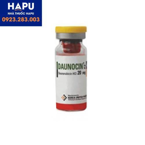 Thuốc Daunocin có tác dụng phụ gì