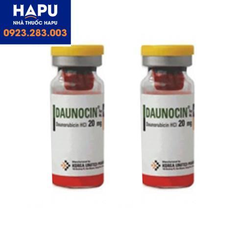 Thuốc Daunocin công dụng chỉ định cách dùng