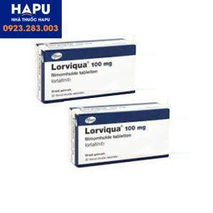 Thuốc Lorviqua công dụng giá bán cách dùng