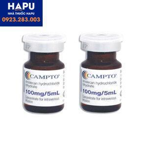 Thông tin thuốc Campto