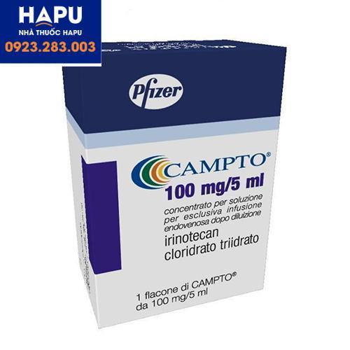 Thuốc Campto điều trị ung thư chỉ định cách dùng