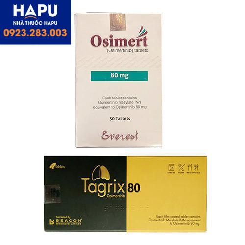 Thuốc osimert thuốc targix 80mg điều trị ung thư phổi giá bao nhiêu