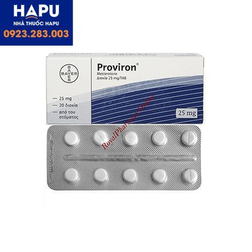 Thuốc Proviron có tác dụng phụ gì