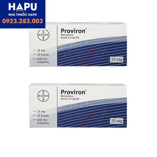 Thuốc Proviron công dụng cách dùng chỉ định