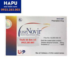 Thuốc USP Novir chính hãng giá tốt mua ở đâu hà nội tphcm 2021