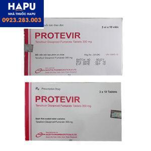 Thuốc protevir 300mg chính hãng giá tốt mua ở đâu hà nội tphcm 2021
