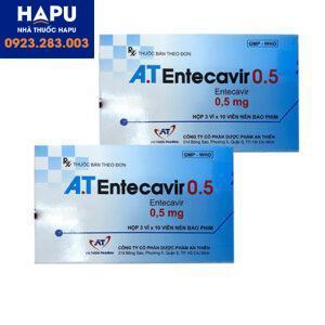 Thuốc AT Entecavir 0.5mg chính hãng giá tốt mua ở đâu hà nội hcm?