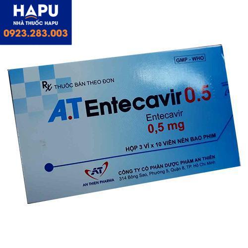 Mua thuốc AT Entecavir 0.5mg ở đâu uy tín Hà Nội, HCM